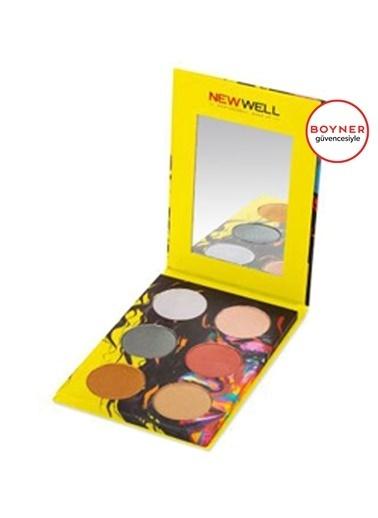 New Well New Well Autumn Eyeshadow (Sarı) 6'lı Göz Farı Sarı